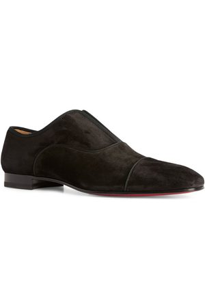 Christian Louboutin Alpha Male Suede Flat Loafers