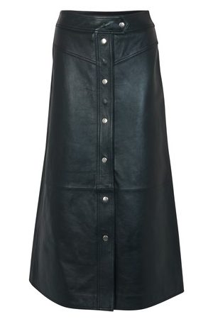 STAND Gianna leather skirt