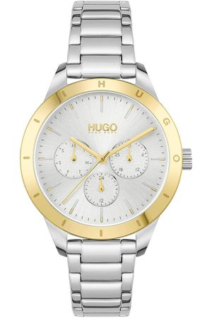 HUGO BOSS #Friend Silver White Dial And Stainless Steel Bracelet Ladies Watch
