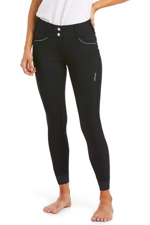 Ariat Women Leather Trousers - Women's Tri Factor X Grip Full Seat Riding Breech in Leather