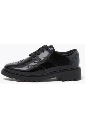 Marks & Spencer Girls Kids' Leather Brogue School Shoes (13 Small - 7 Large) - 13 SSTD