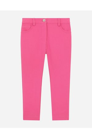 Dolce & Gabbana Girls Stretch Trousers - Trousers and Skirts - STRETCH CADY PANTS female 2