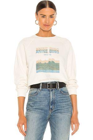 ANINE BING Women Sweatshirts - Arlo Desert Road Sweatshirt in . Size XS, S, M.