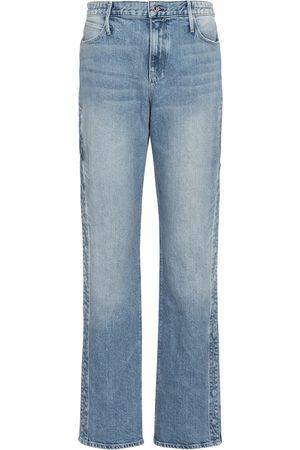 RTA Michael high-rise straight jeans