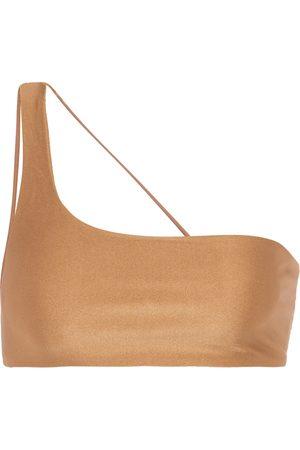 Jade Swim Exclusive to Mytheresa – Apex one-shoulder bikini top