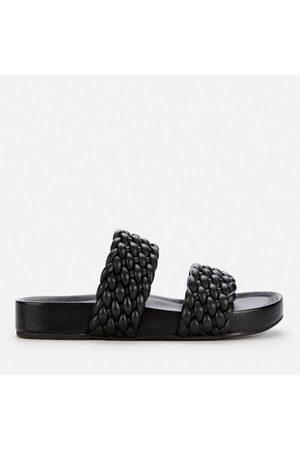 Women Sandals - Dune Women's Laylow Leather Double Strap Sandals