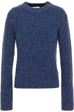 Rodebjer Woman Talena Cutout Marled Ribbed Merino Wool Sweater Size M