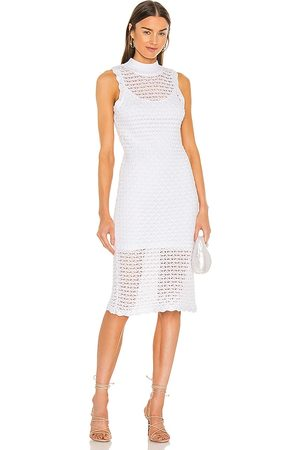525 America Sleeveless Midi Dress in . Size XS, S, M, XL.