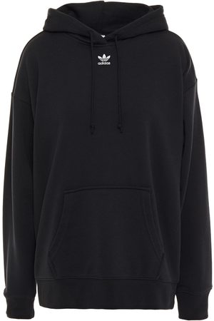 adidas Women Hoodies - Woman French Cotton-blend Terry Hoodie Size 32