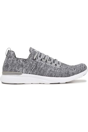 APL® ATHLETIC PROPULSION LABS Woman Techloom Pro Mesh Sneakers Gray Size 10