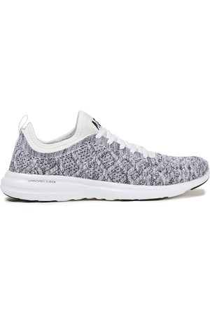 APL® ATHLETIC PROPULSION LABS Women Trainers - Woman Techloom Phantom 3d Mesh And Neoprene Sneakers Gray Size 10.5