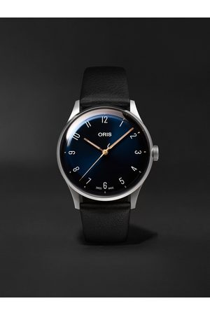 Oris James Morrison Academy of Music Limited Edition Automatic 38mm Stainless Steel and Leather Watch, Ref. No. 01 733 7762 4085-Set