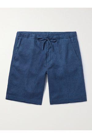 Loro Piana Slim-Fit Linen Drawstring Bermuda Shorts