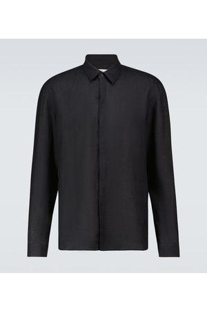 COMMAS Long-sleeved linen shirt