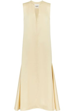 Jil Sander Satin maxi dress