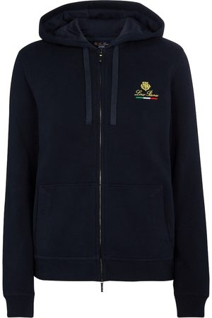 Loro Piana Horsey cotton fleece hoodie