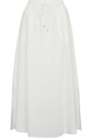 Max Mara Utopico cotton-blend midi skirt