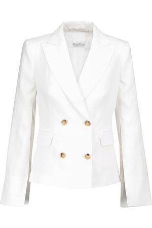 Max Mara Argenta linen blazer