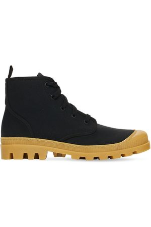 GIA 20mm Cotton Canvas Combat Boots
