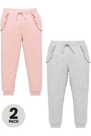 Very Girls Trousers - Girls 2 Pack Frill Joggers