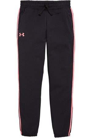 Under Armour Girls Rival Terry Taped Pant