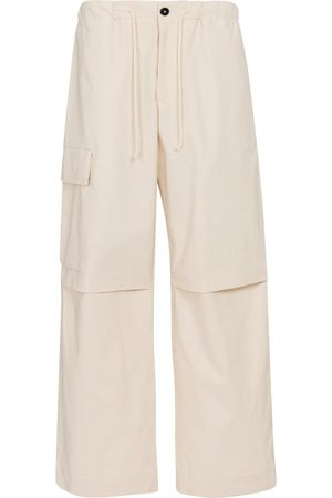 Jil Sander High-rise wide-leg cotton pants