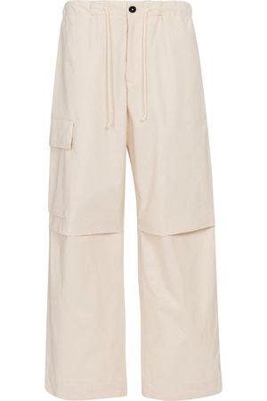 Jil Sander High-rise wide-leg cotton pants