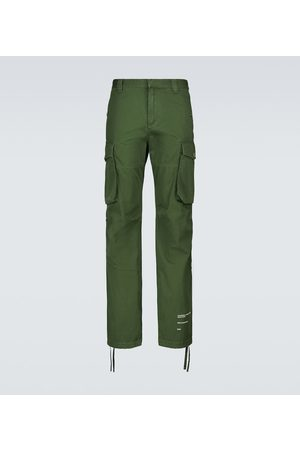 OFF-WHITE Cotton cargo pants