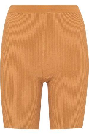 SIR Jasper ribbed-knit biker shorts