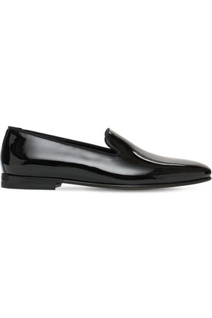 Manolo Blahnik Mario Patent Leather Loafers