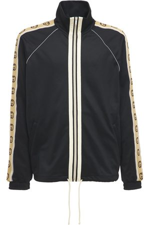 Gucci Technical Jersey Zip-up Jacket