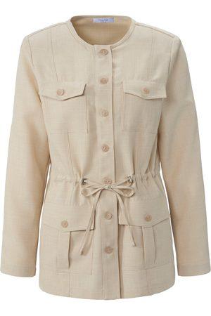mayfair by Peter Hahn Safari style jacket flap pockets size: 10