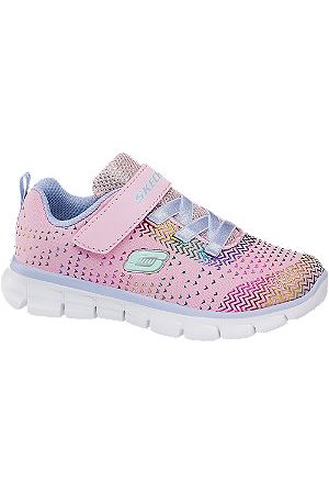 Skechers Toddler Girls Touch Strap Trainers