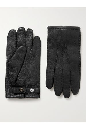 Dents Men Gloves - Hampton Cashmere-Lined Full-Grain Leather Gloves