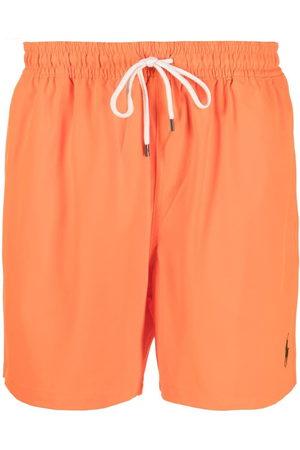 Polo Ralph Lauren Logo drawstring swim shorts