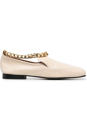 By Far Chain detail loafers - Neutrals