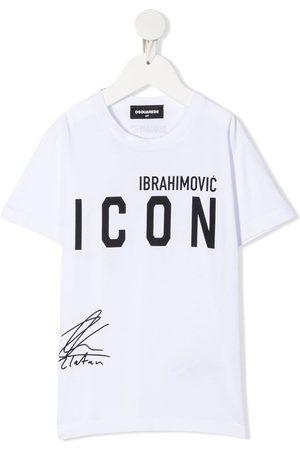 Dsquared2 Boys Short Sleeve - X Ibrahimović Icon T-shirt