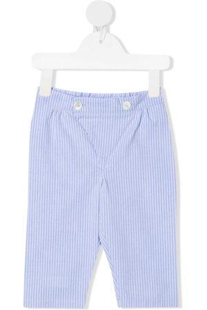 SIOLA Trousers - Stripe-pattern cotton trousers