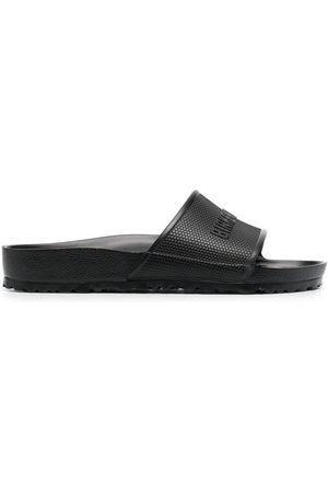Birkenstock Men Sandals - Barbados EVA logo-embossed sliders