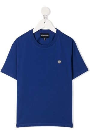 Emporio Armani Logo patch short-sleeve T-shirt
