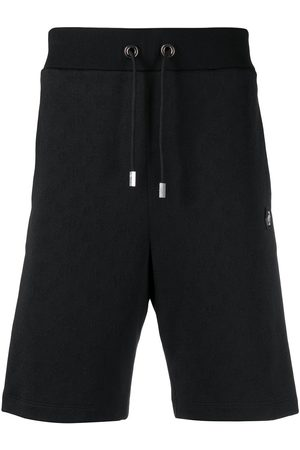 Philipp Plein Men Sports Shorts - Stripe-side track shorts