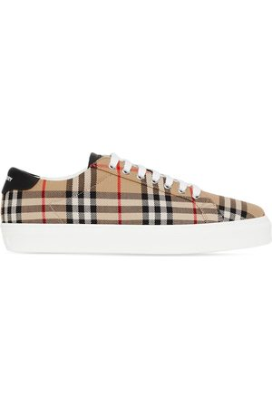 Burberry Vintage Check low-top sneakers - Neutrals