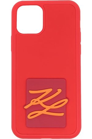 Karl Lagerfeld Karligraphy logo iPhone 11 case
