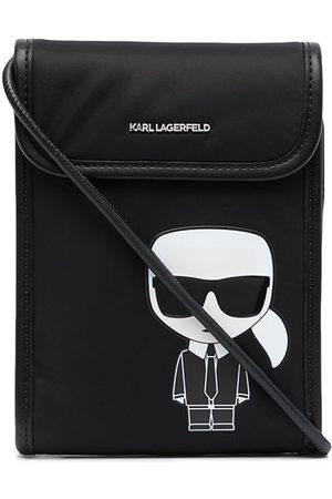 Karl Lagerfeld Ikonik logo cross-body bag