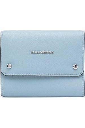 Karl Lagerfeld Logo foldover wallet
