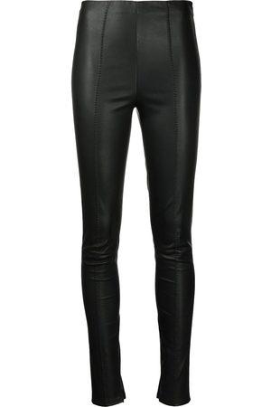 Jason Wu Women Leather Trousers - Skinny-cut leather trousers