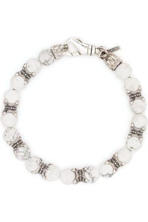 EMANUELE BICOCCHI Men Bracelets - Beaded chain bracelet