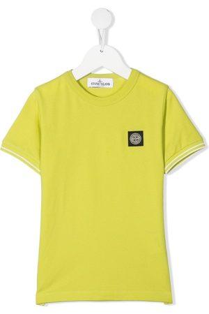 Stone Island Boys Short Sleeve - Logo patch T-shirt