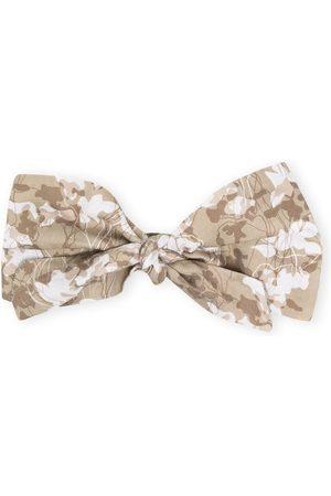 Brunello Cucinelli Girls Headbands - Abstract-print knot headband