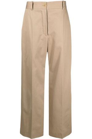 Patou Women Wide Leg Trousers - Wide-leg tailored trousers - Neutrals